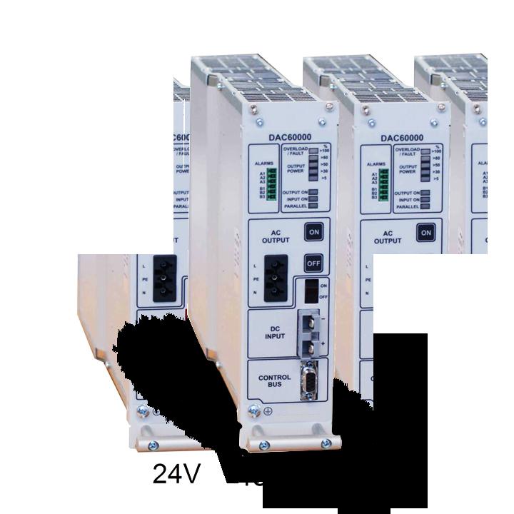 48-60VDC naar 230V inverter