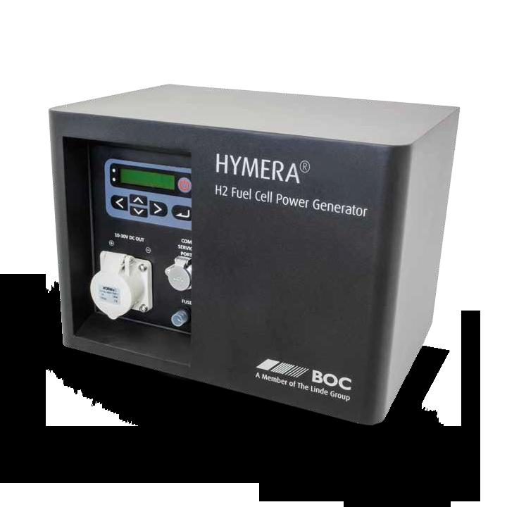 Het Holthausen Waterstof Centrum levert de BOC Hymera waterstof generator